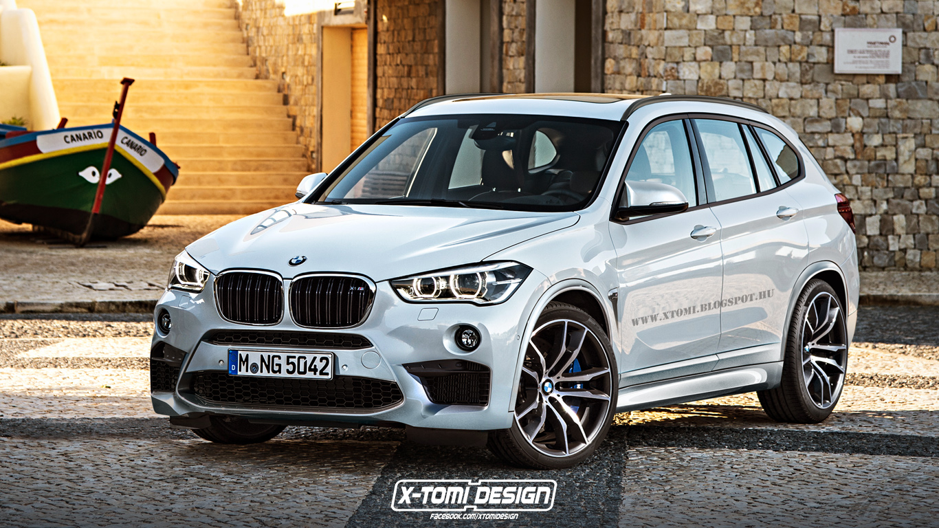Bmw X1 M Rendering Looks Too Good To Miss Autoevolution
