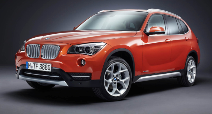 BMW X1 Ranked Second Crossover in Highway Fuel Economy Top for 2013