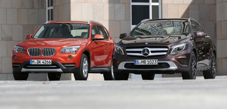 BMW X1 vs MercedesBenz GLA Quick Comparison  autoevolution