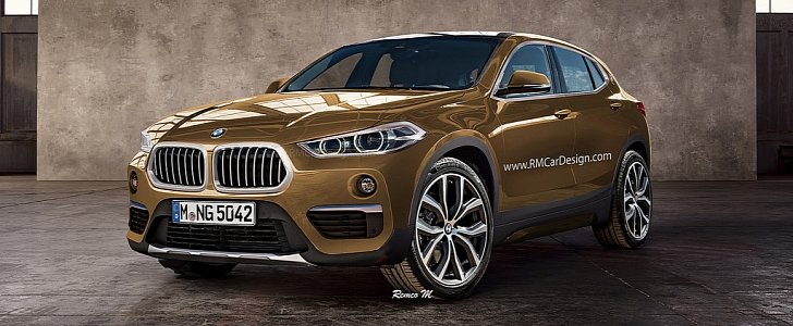 Bmw X2 Rendering Gets Almost Everything Right Screws It