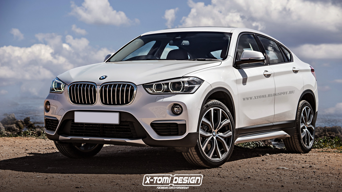 bmw x2 rendering hits the spot autoevolution. Black Bedroom Furniture Sets. Home Design Ideas