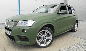 Army Green BMW X3