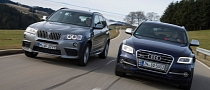 BMW X3 xDrive35d vs Audi SQ5 TDI by AutoMotorUndSport [Photo Gallery]