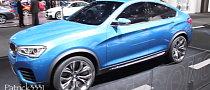 BMW X4 Concept at Dubai Motor Show [Video]