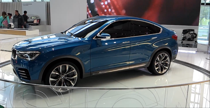 BMW X4 Concept Available for Everyone at BMW Welt [Video]