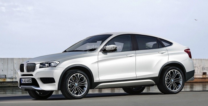 BMW X4 Concept Coming to 2013 Detroit Auto Show