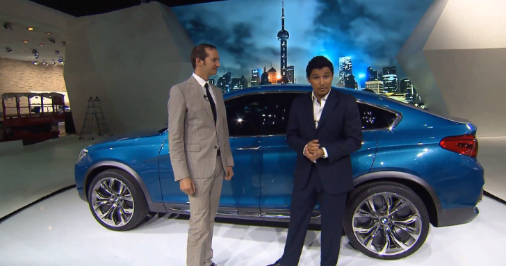 BMW X4 Concept Makes World Debut at Shanghai [Video]