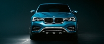 BMW X4 Concept Official Photos Released [Photo Gallery]