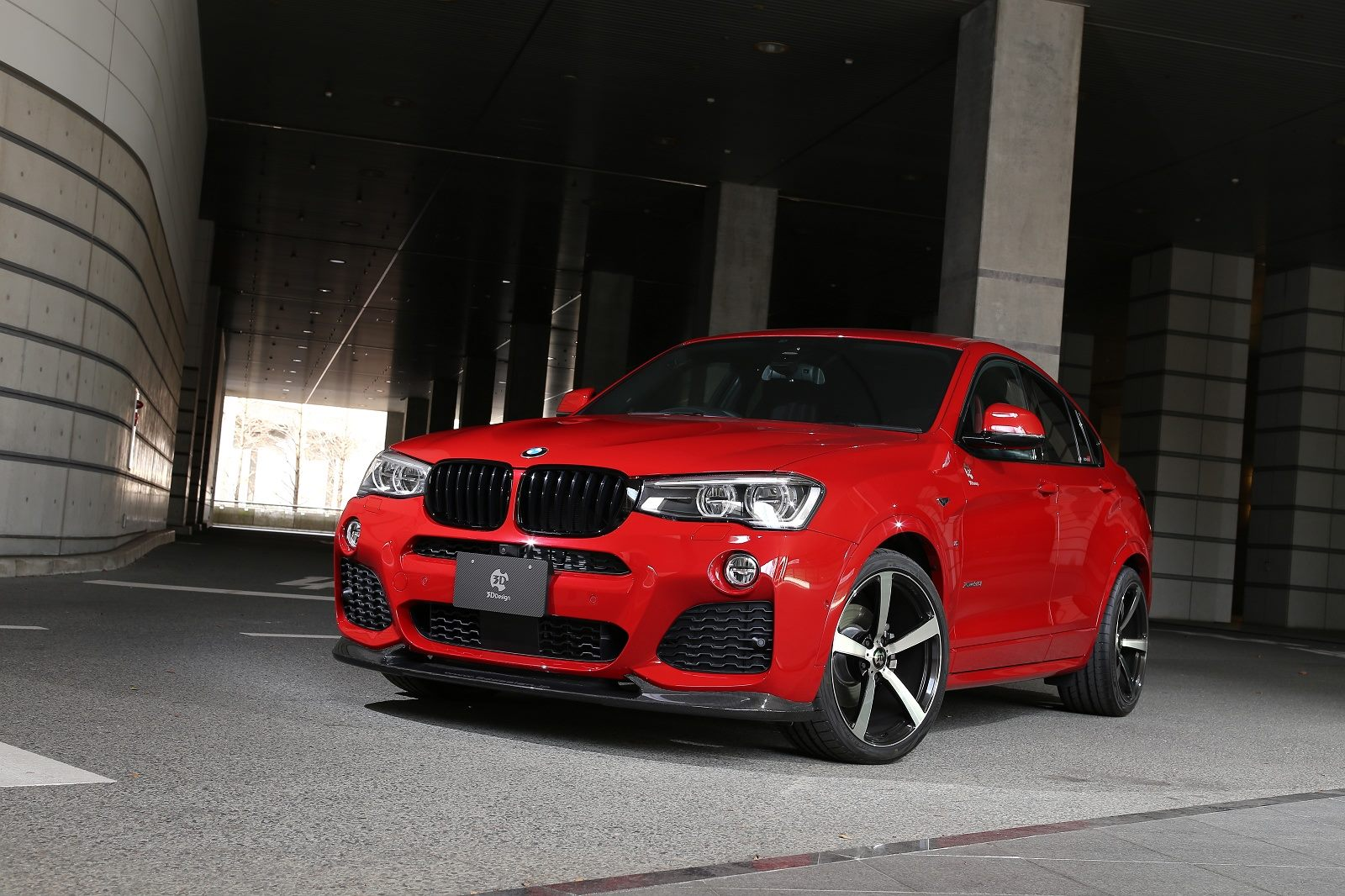 Bmw x4 gets 3d design tuning program photo gallery
