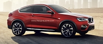 BMW X4 Looks Really Good as a Red Two-Door
