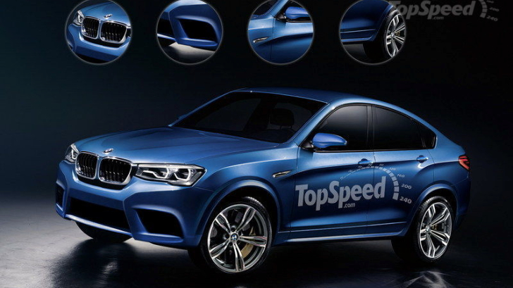 Bmw X4 M Rendered Not Expected Before 2017 Autoevolution