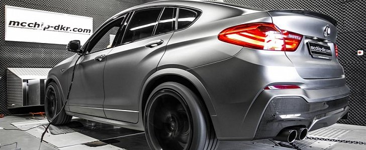 BMW X4 xDrive35d Taken Up to 370 HP Is a Preview for the Upcoming X4 ...