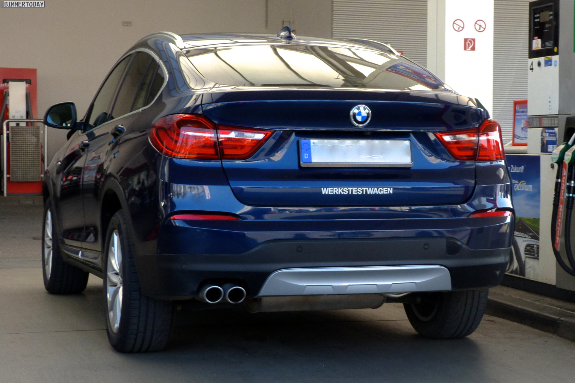 Bmw X4 Xline Caught In The Flesh In Munich Autoevolution