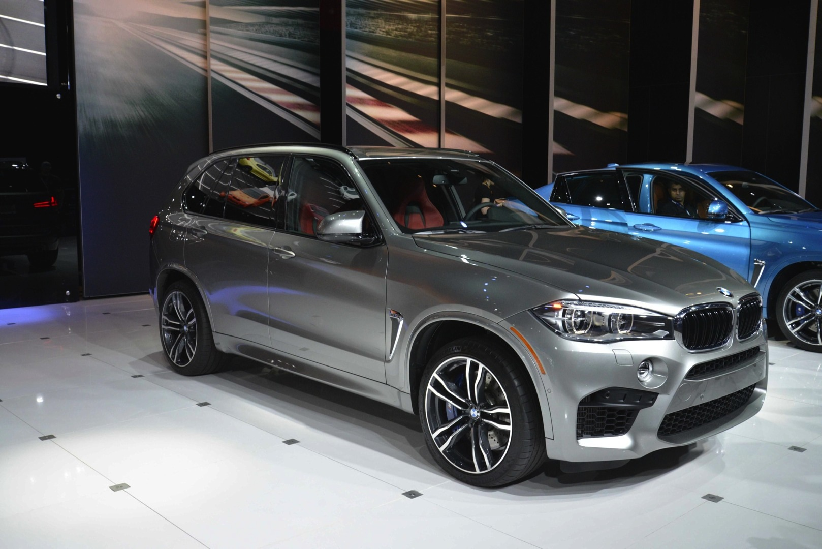 Bmw X5 M And X6 Show Up In La With New Colors