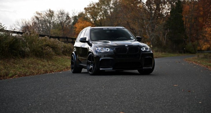BMW X5 M Goes in Beast Mode on BC Forged Wheels