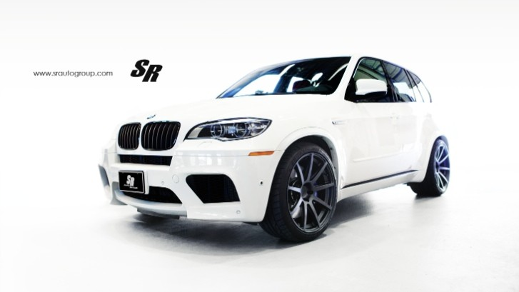 BMW X5 M Rides on Fat PUR Wheels