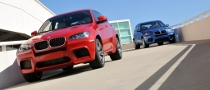 BMW X5M, X6M Official Photos and Details