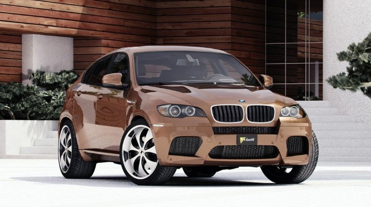 BMW X6 and X6 M Get Schmidt Revolution Rhino Wheels