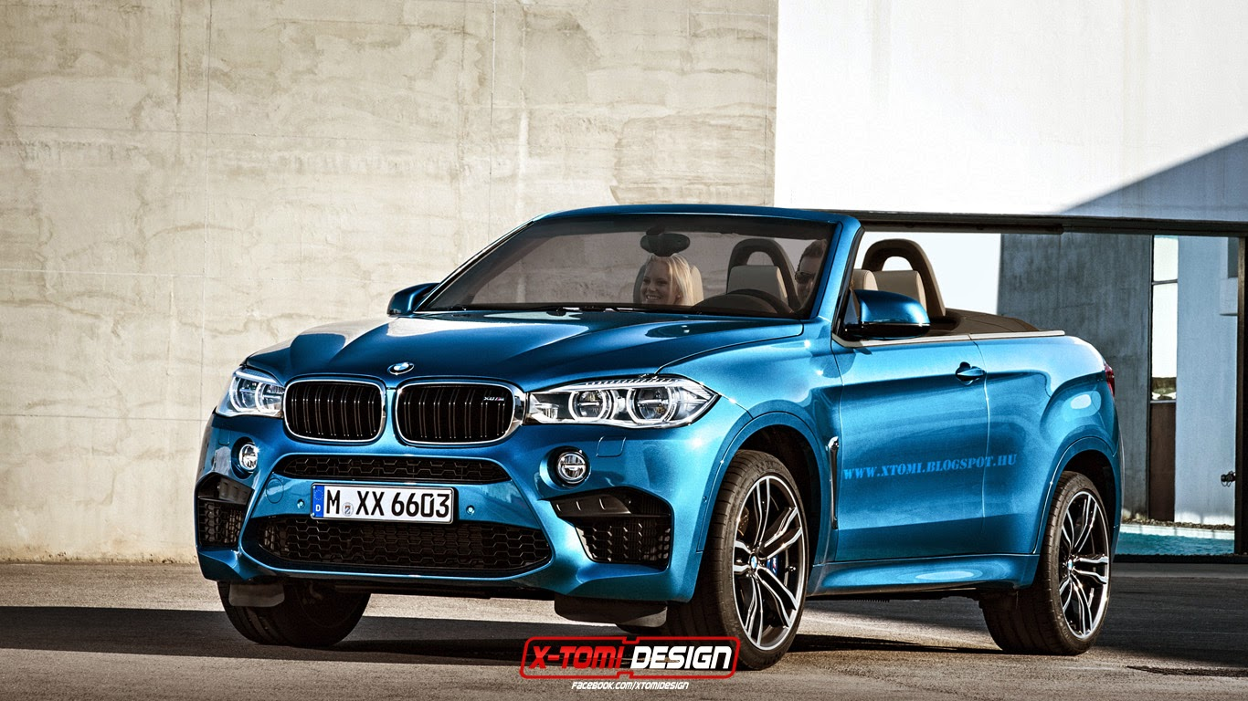 Bmw X6 M Convertible Rendered As The Craziest Niche