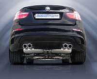 BMW X6 M with Eisenmann exhaust