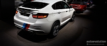 BMW X6 M with M Performance Parts Shows Up at 2013 IAA