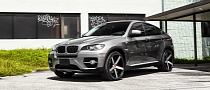 BMW X6 on Vossen Wheels [Photo Gallery]