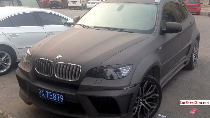 BMW X6 Wears Crazy Body Kit in China