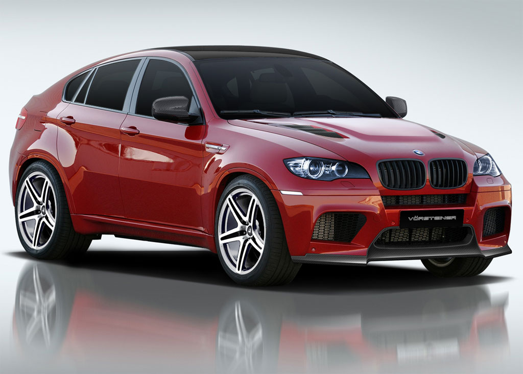 Bmw X6m Sexed Up By Vorsteiner Autoevolution