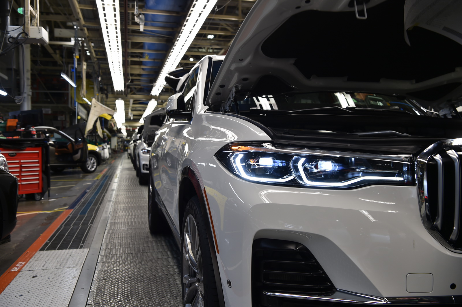 BMW X7 reaches pre-production stage in Greer