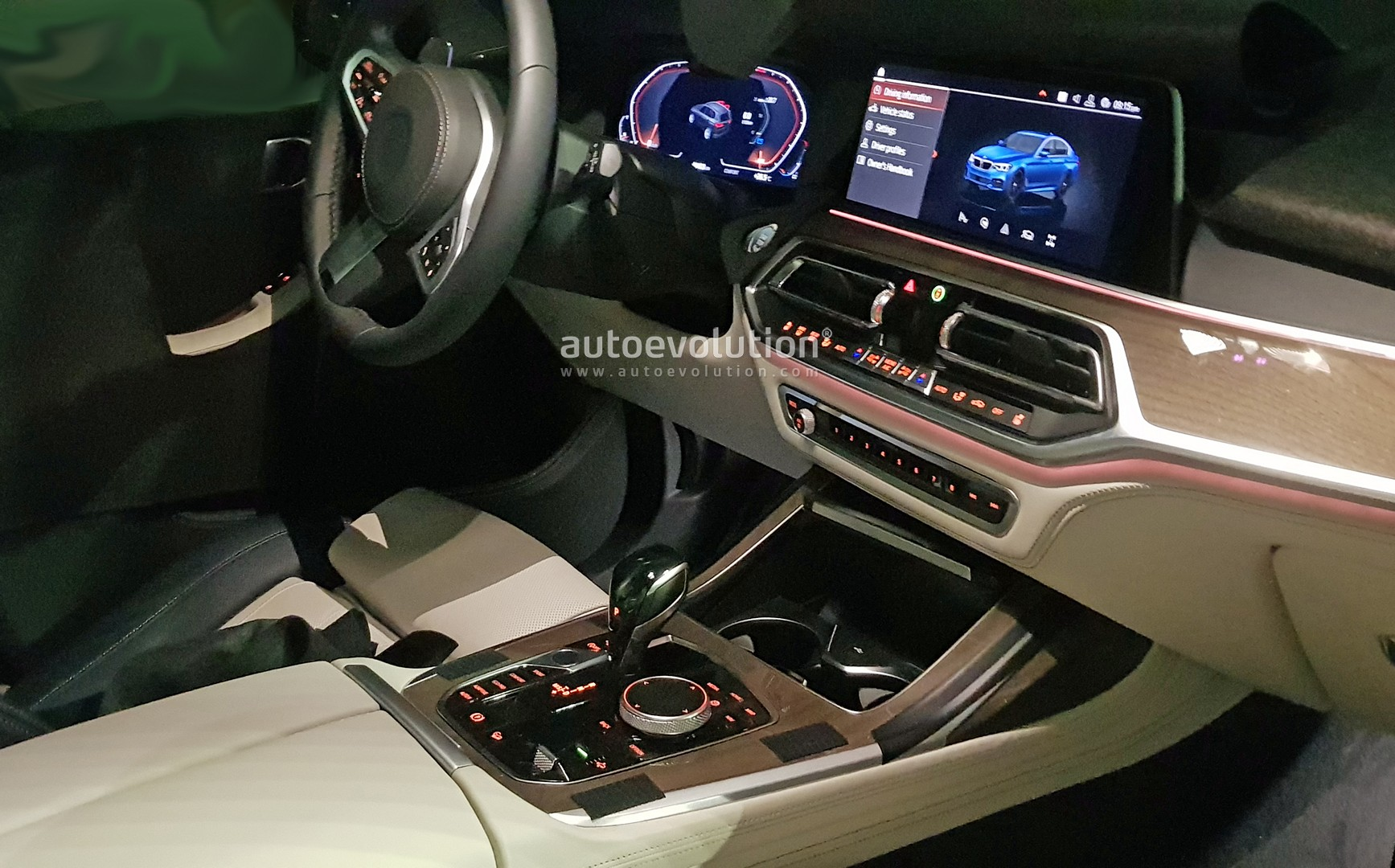 Bmw X7 Shows Awesome 6 Seat Interior In Latest Spyshots
