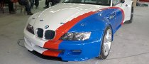 BMW Z3 Gets M5 V10 Engine For Bulgarian Racing