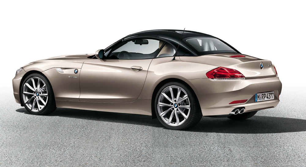 Bmw Z4 Gets Silver And Black Hardtop Options Autoevolution