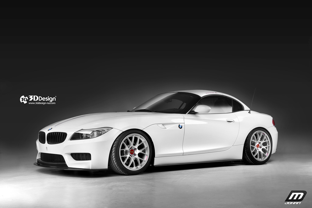 Bmw Z4 Gets Tweaked By 3d Design Autoevolution