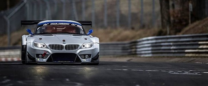 bmw z4 gt3 two seat race taxi from marc vds goes on sale autoevolution. Black Bedroom Furniture Sets. Home Design Ideas