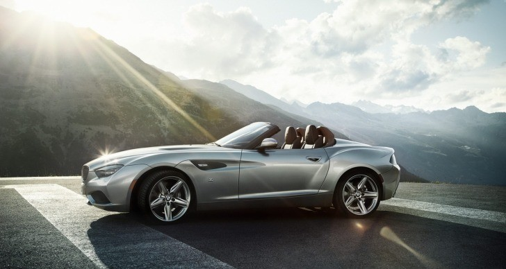 BMW Z4 Zagato Roadster Concept Unveiled [Photo Gallery]