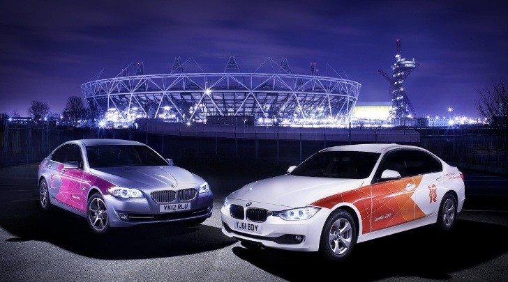 BMW's 2012 Olympic Games Fleet Livery Revealed