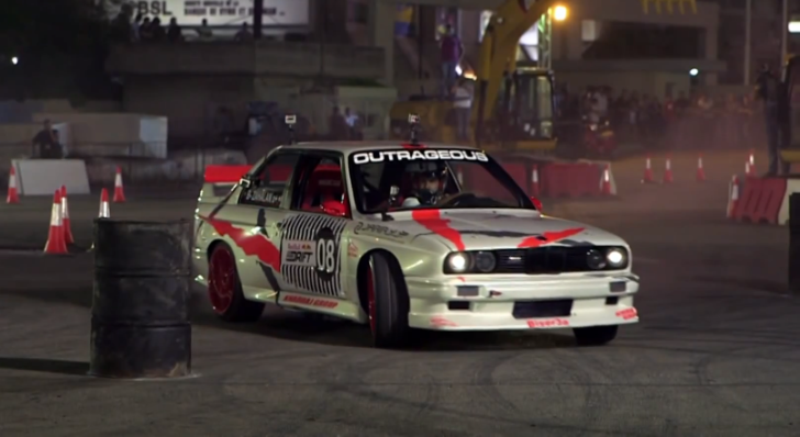 BMWs Join Red Bull in Lebanon Drift Racing Event [Video]