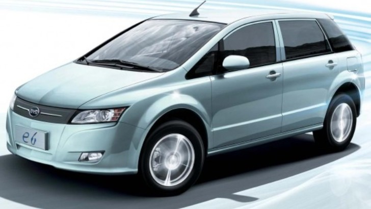 Bogota Taxi Fleet to Get 46 BYD E6 EVs in 2013