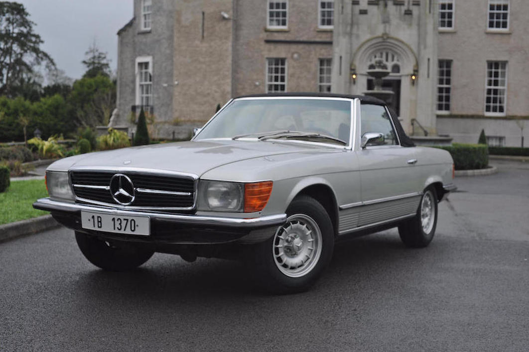 A Dictator Owned 1973 Mercedes Benz Sl Sold At Auction For
