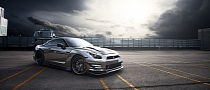 Bored? Black Chrome Nissan GT-R Will Make It Better [Photo Gallery]