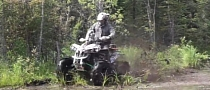 Bored-Out NOS Can-Am Means Fun in the Swamp [Video]