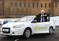 Boris and the Fluence Z.E.
