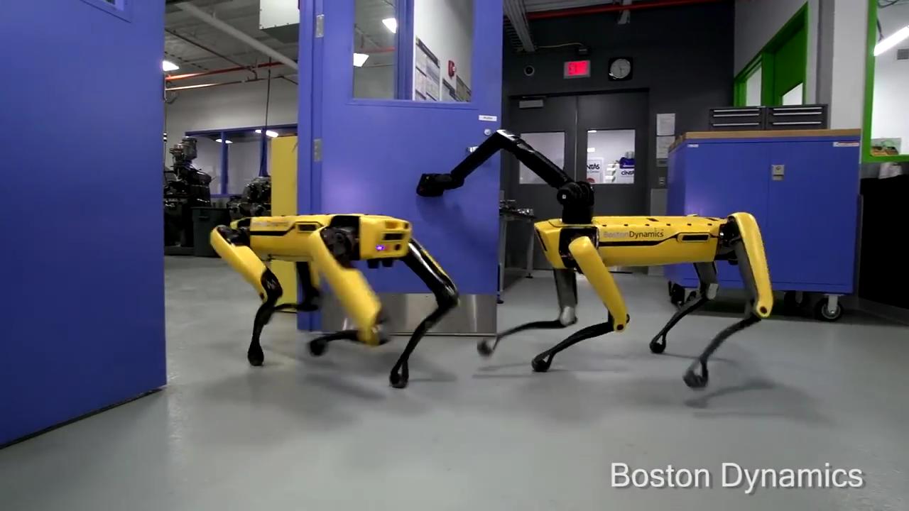 Boston Dynamics\u0027 Creepy Robot \ Dog\  Can Open Doors & Boston Dynamics\u0027 Creepy Robot \