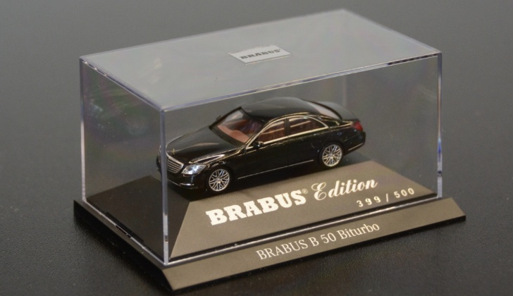 Brabus B50 S-Class For The Masses is a Bit Smaller Than You'd Expect