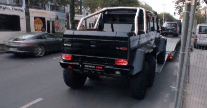 Brabus B63S – 700 6x6 and 850 Biturbo iBusiness Caught in Dusseldorf [Video]