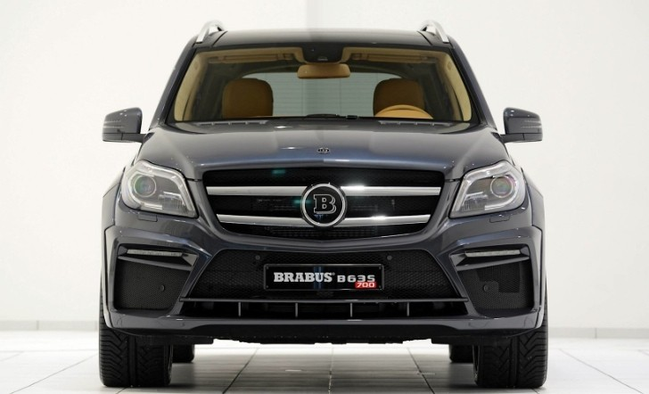 Brabus GL 63 AMG With 700 hp Heading for Frankfurt [Photo Gallery]