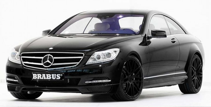 Brabus Mercedes Benz Cl S Matic Are Here