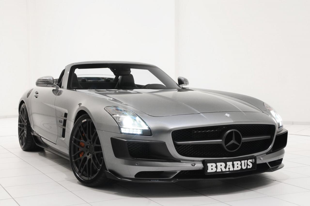 Brabus Mercedes-Benz SLS AMG Roadster - autoevolution