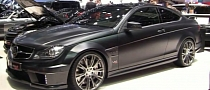 Brabus Mercedes C-Coupe 800 Bullit in Geneva [Video]