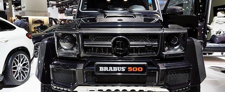 Brabus Mercedes G500 4x4² and G-Class 850 Biturbo Widestar ...